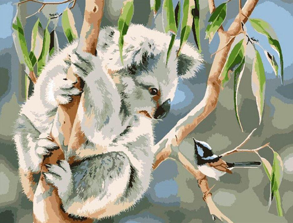 Koala Paint by Numbers (40x50cm)